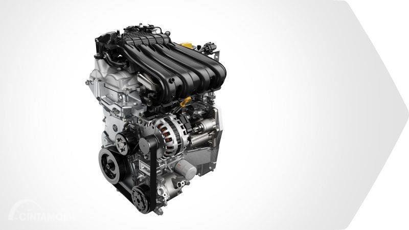 mesin Renault Duster 2019 berwarna putih