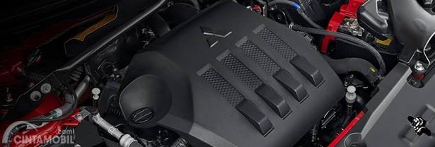 Mesin Mitsubishi Eclipse Cross mengandalkan kapasitas 1.5 Liter dipadu transmisi CVT yang dikenal responsif