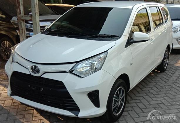 Toyota Calya G 2019 berwarna putih hanya dijual Rp. 135 juta saja di Surabaya