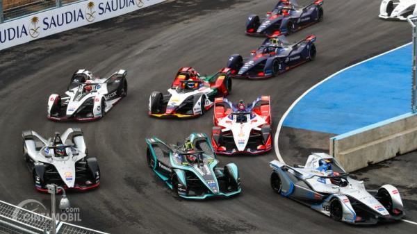 Suasana balapan Formula E