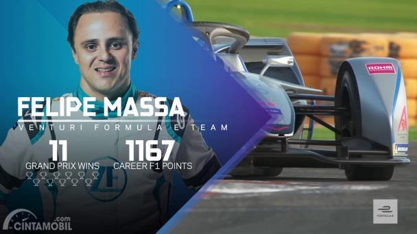Felipe Massa, pembalap Venturi Formula E