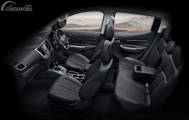 Kursi Mitsubishi Triton Absolute 2019 mampu menampung hingga 5 orang sekaligus