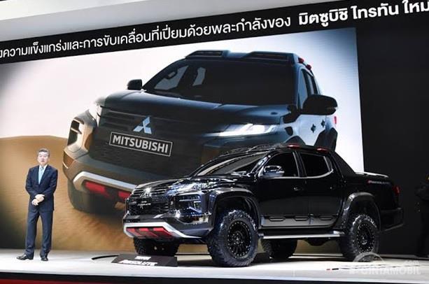 Mitsubishi Triton Absolute Bangkok International Motor Show 2019 hadir pertama kali di pasar Asia tepat pada tanggal 26 Maret