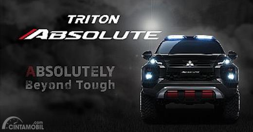 Teaser Mitsubishi Triton Absolute 2019 sempat meramaikan jagat sosial media, membuat rasa penasaran bagi peminatnya