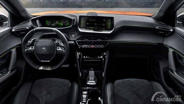 Dashboard Peugeot 2008 2019 menerapkan tema i-Cockpit 3D, inovatif untuk kendaraan di segmennya