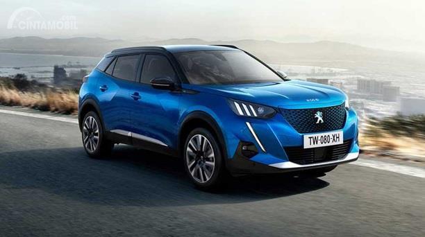 Peugeot e-2008 punya tenaga berdaya 136 HP dipadu torsi puncak 260 Nm