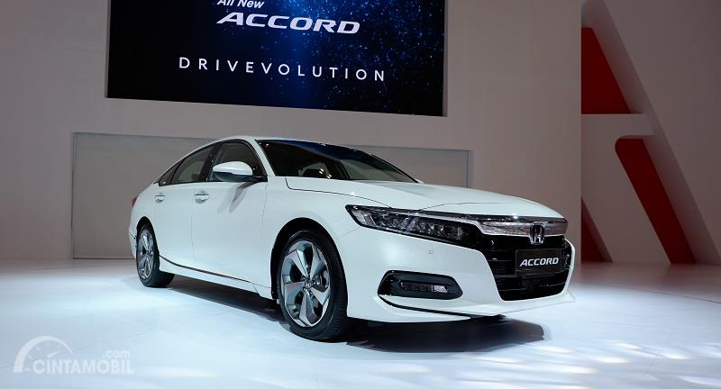 All New Honda Accord 2019 berwarna putih