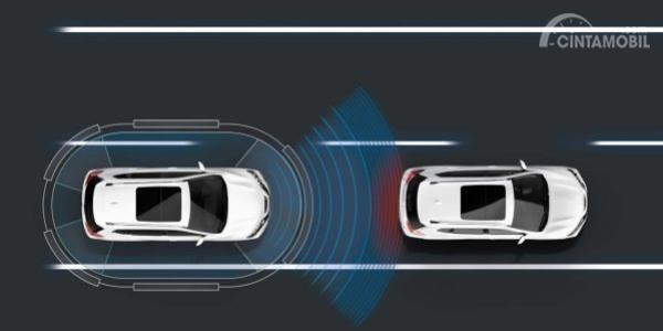 Cara kerja intteligent Cruise Control Nissan X-Trail