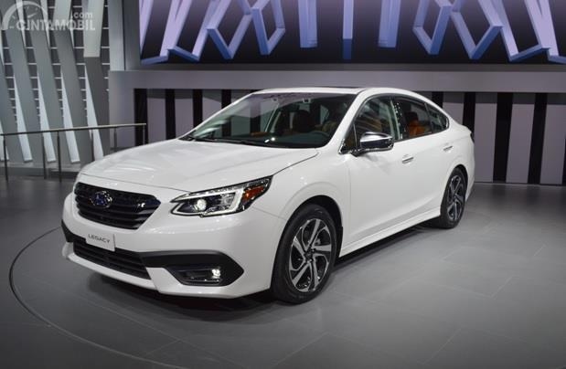 All-New Subaru Legacy diperkenalkan di acara Chicageo Auto Show 2019 dan siap dipasarkan tahun depan