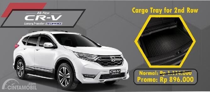 Aksesoris Honda CR-V hanya tawarkan satu komponen saja yakni Cargo Tray For 2nd Row