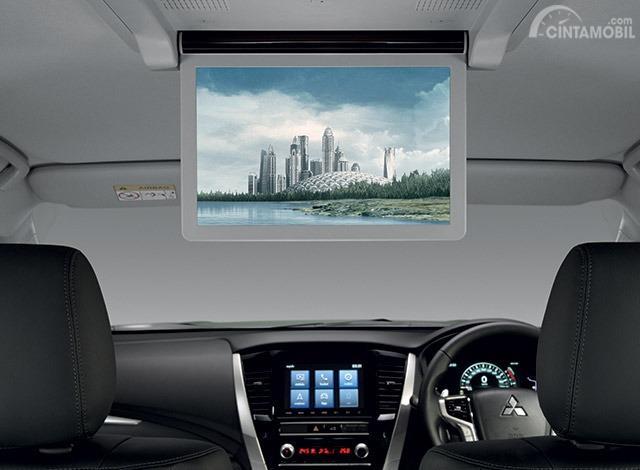Gambar menunjukkan Roof Monitor New Mitsubishi Pajero Sport 2019
