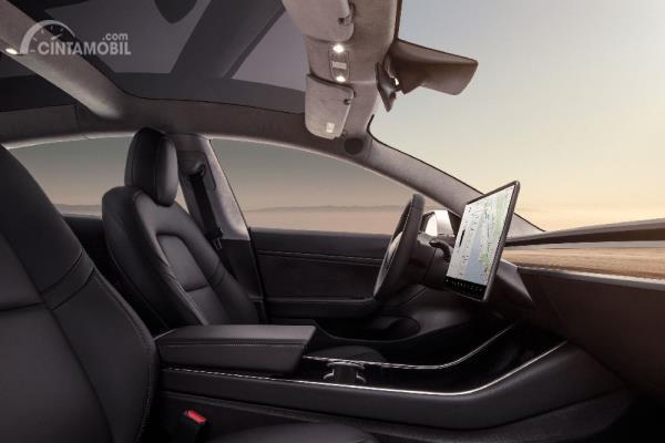 Desain Interior Tesla Model 3