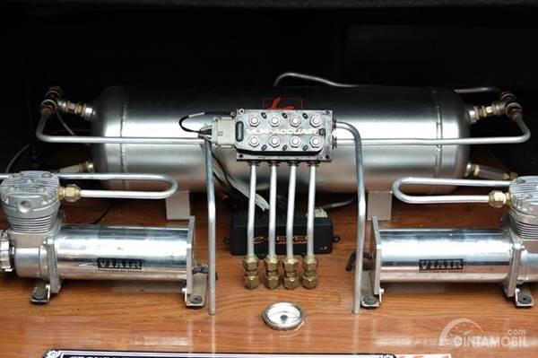 sistem suspensi udara pada mobil