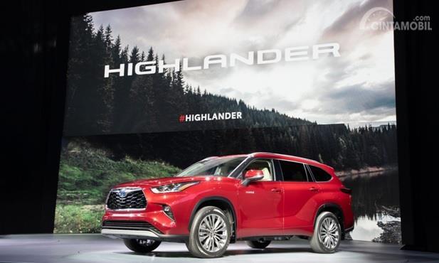Toyota Highlander 2020 meluncurkan generasi keempatnya di New York