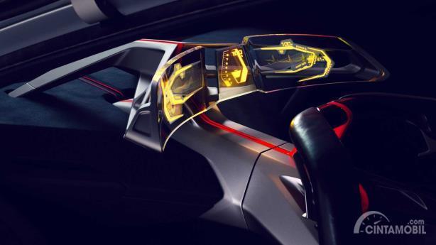Interface boost pod pada BMW Vision M Next Concept