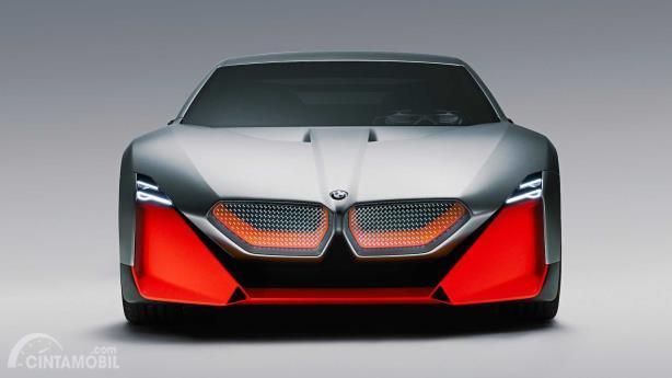 Bagian depan BMW Vision M Next Concept