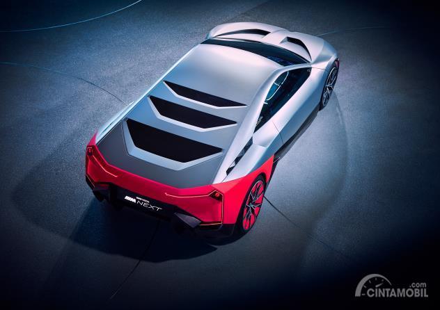 Cover mesin BMW Vision M Next Concept