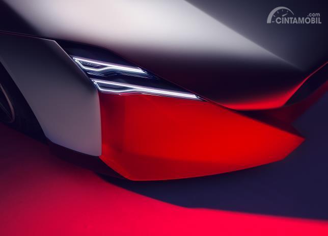 Model lampu depan BMW Vision M Next Concept