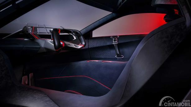 Desain interior BMW Vision M Next Concept