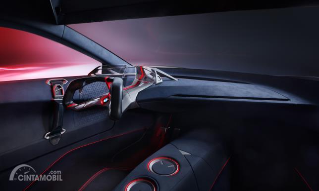 Tampilan interior BMW Vision M Next Concept