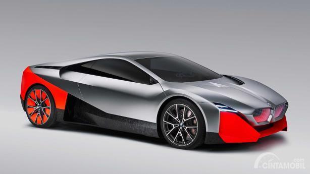 Tampilan samping BMW Vision M Next Concept