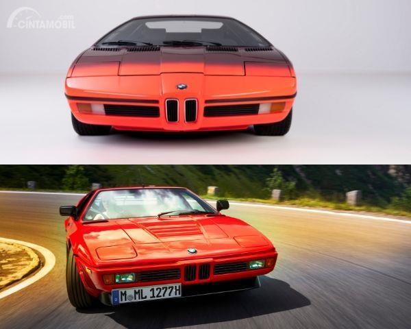 Bagian depan BMW Turbo dan BMW M1