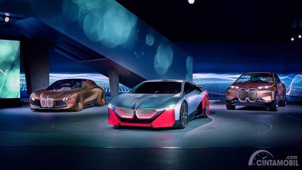 Line-up mobil konsep BMW yang dipamerkan di BMW NextGen