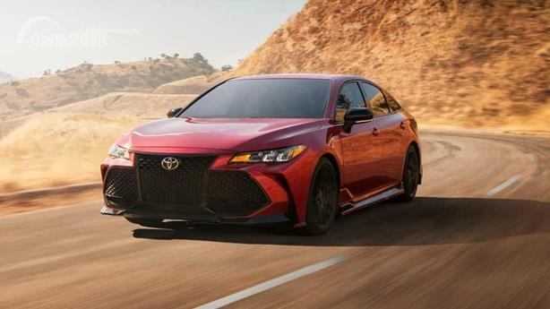 Operasi Mesin Toyota Avalon TRD 2020 mengandalkan spesifikasi 3.5 Liter V6 DOHC berdaya 301 HP
