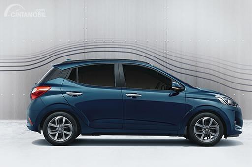 Gambar menunjukkan Aerodinamika pada mobil Hyundai Grand i10 NIOS 2019