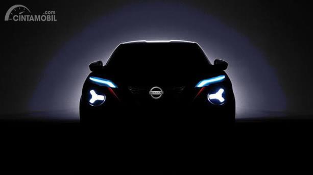 Teaser All New Nissan Juke 2019 sempat menghebohkan dunia maya, hanya dipertontonkan lekuk bodi dan sisi lampunya