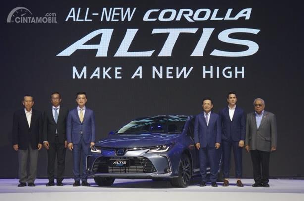 Peluncuran Toyota Corolla Altis 2019 dilakukan di Thailand dan menawarkan beberapa varian
