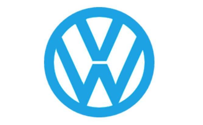 logo kelima Volkswagen berwarna biru