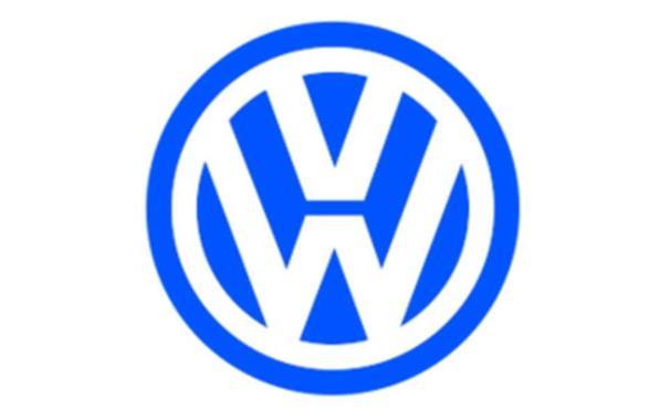 logo keenam Volkswagen berwarna biru