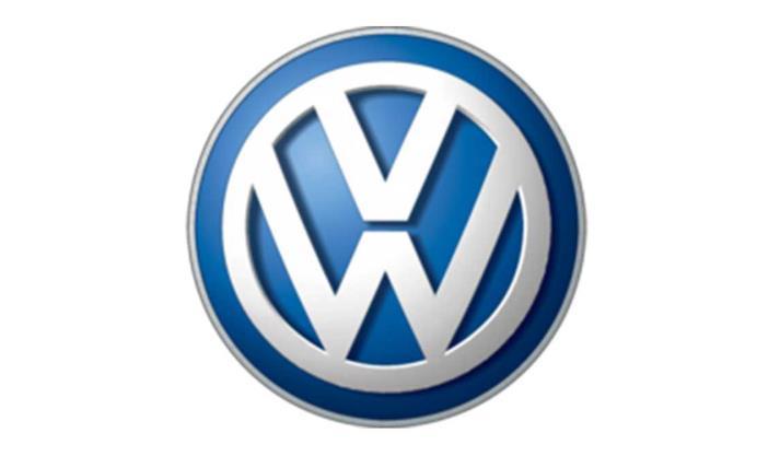 logo kedelapan Volkswagen berwarna biru