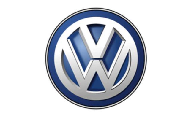 logo kesembilan Volkswagen berwarna biru