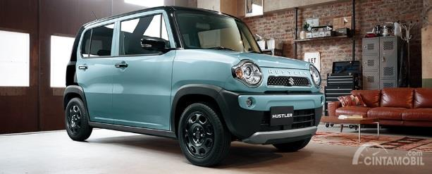 Suzuki Hustler 2018 hadir dengan beberapa pembaruan menarik khususnya dari segi fitur