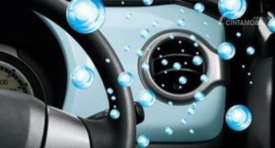Fitur Suzuki Hustler 2018 dilengkapi dengan 360 Camera dan AC yang terintegrasi teknologi Nanoe sehingga punya kualitas udara lebih sehat