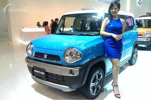 Suzuki Hustler 2014 sempat diperkenalkan di ajang IIMS dalam bentuk mobil konsep