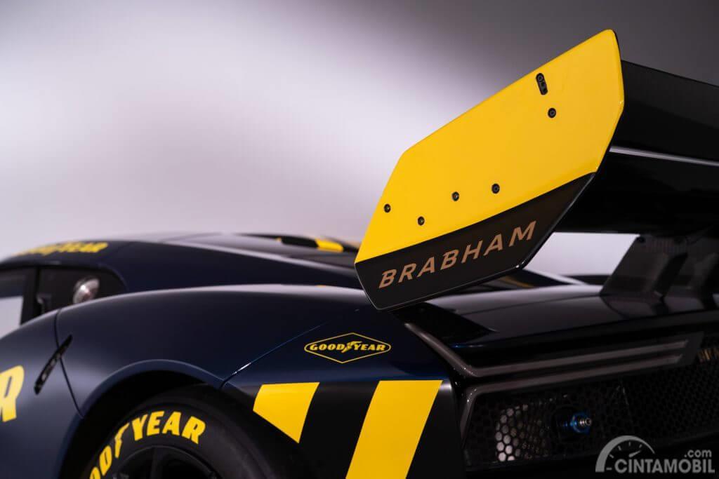 Gambar menunjukkan Sayap Brabham BT62