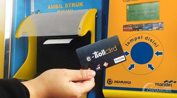 E-Toll juga menjadi perlengkapan utama yang tidak boleh dilupakan saat melakukan konvoi komunitas mobil