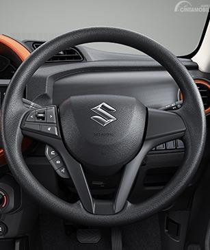 Gambar menunjukkan Setir Suzuki S-Presso 2019