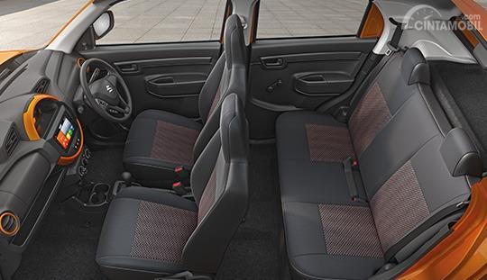 Gambar menunjukkan Konvigurasi Jok Suzuki S-Presso 2019