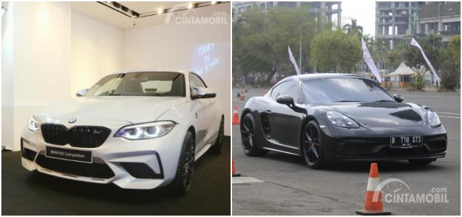 Foto BMW M2 Competition VS Porsche 718 GTS