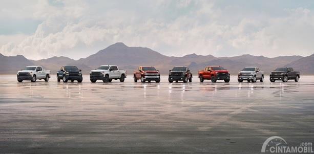 Varian Chevrolet Silverado 2020 terbagi menjadi 8 trim yang bisa dipilih sesuai kebutuhan