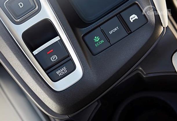 Operasi Mesin Honda Insight 2020 juga menawarkan tiga pilihan berkendara yakni ECON, Sport dan EV