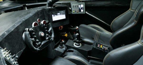Foto interior Batmobile