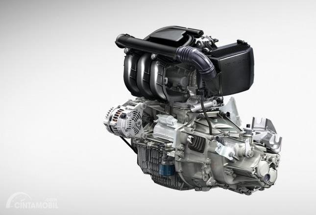 mesin Renault Kwid 2019 berwarna perak