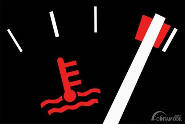 indikator suhu mesin
