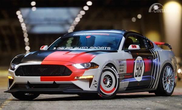 Keren! Modifikasi Ford Mustang GT Ala Mobil Balap NASCAR