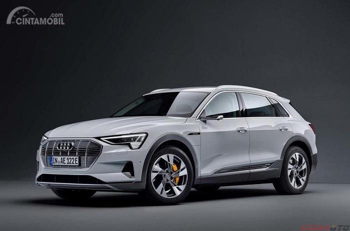 Audi e-Tron 50 Quattro 2019 Putih